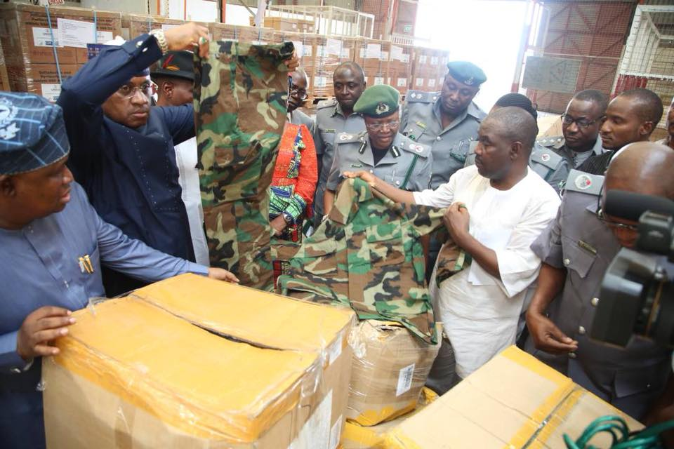 Senator Dino Melaye Accuses Kogi Government Of Importing Military Items (Photos)