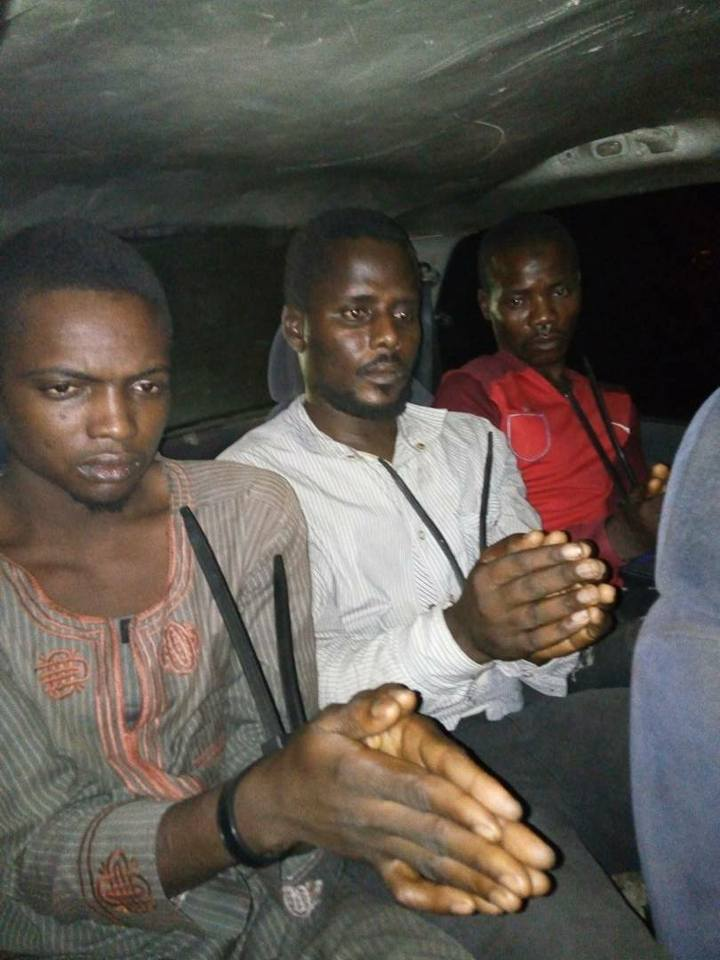 Wanted Boko Haram Terrorist, Three Others Arrested By Security Operatives (Photos)