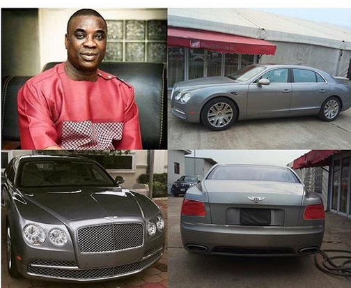 Kwam1 Acquires a Bentley Flying Spur (photo)