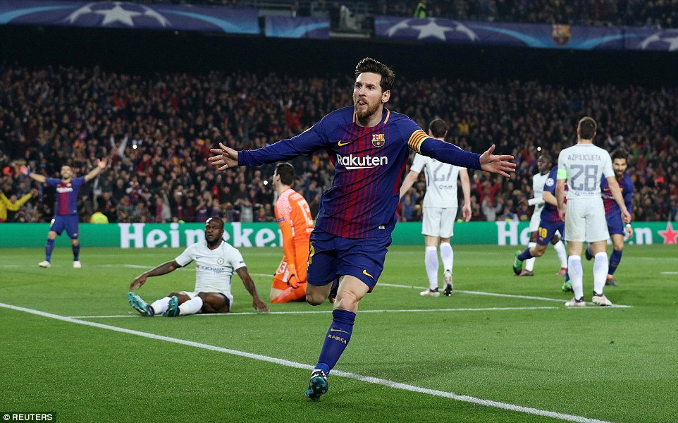 Chelsea Goalkeeper Courtois Reveals Why Messi Scored 2 Goals Through His Legs