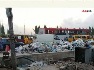 Photos! Lagos slowly eaten up by filth and dirt
