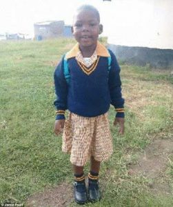 Five year old girl drowns in school toilet after falling into outdoor 'pit latrine' in South Africa