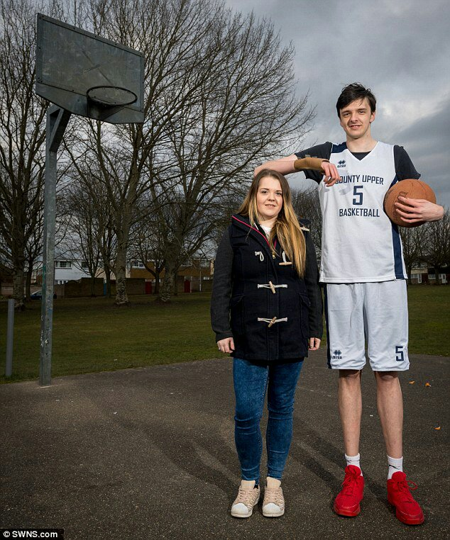 Meet The 16-Year-Old Boy Who Is Being Hailed As The Tallest Teenager In The World (Photos)