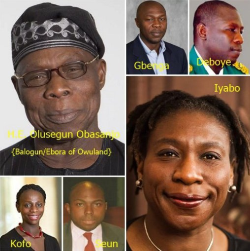 Ex-President Chief Olusegun Obasanjo Discloses Eight Out Of His