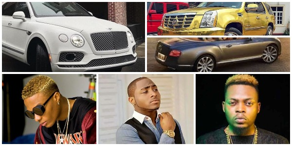 Nigerian Music Stars and Cars (Photos)