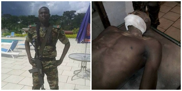 25-Year-Old Soldier Shot Dead By Secessionists In Cameroon (Graphic Photos)