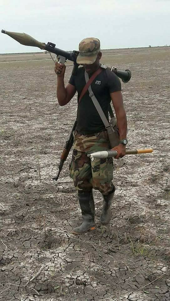Brave Nigerian Soldier Killed While Fighting Boko Haram In Borno State (Photos)