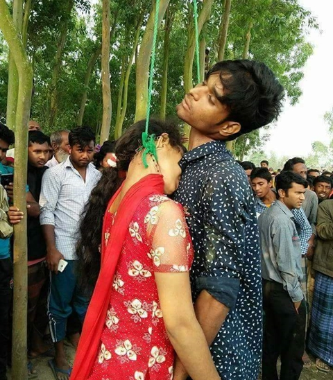 Till Death Do Us Part: Young Couple Commit Suicide By Hanging After Parents Refused Their Marriage (Photos)