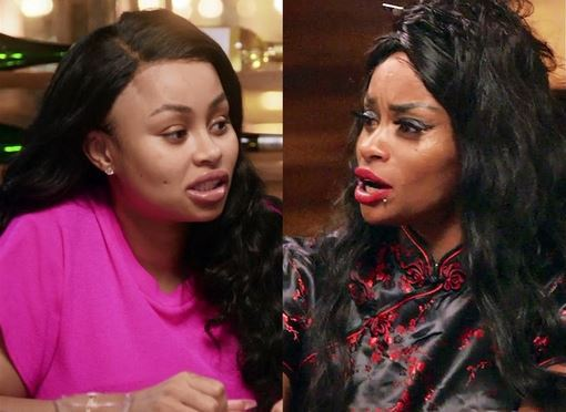 Blac Chyna's Mum Calls Her Out Over Financial Aid