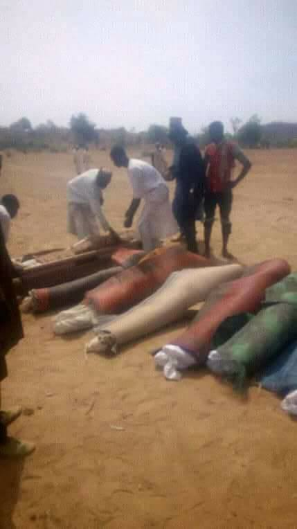 Scores Of Villagers Killed By Armed Bandits In Zamfara State (Photos)