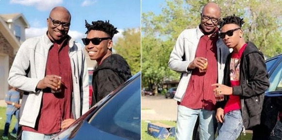 Two Years After, Mayorkun Reunites With His Father At His Show In Dallas