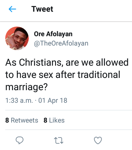 Lady Gives Hilarious Response To A Question About Sëx Before Marriage In Church