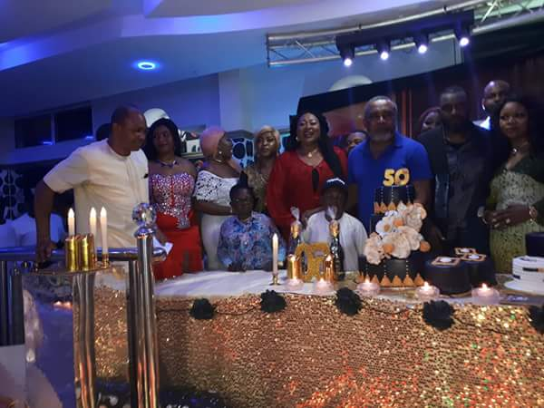 Nollywood Stars Storm Birthday Party In Owerri Hotel, As Davido Performs (photos)