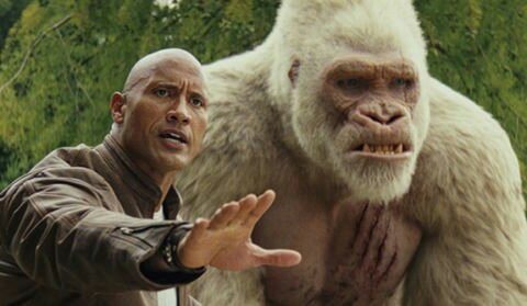 The Rock Plays A Nigerian In His Upcoming Monster Movie, 'Rampage'