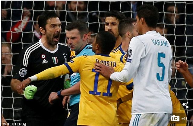 'He's A Murderer'; Juventus Goalkeeper, Buffon Blasts Referee After Champions League Exit