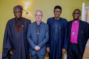 President Buhari meets Archbishop of Canterbury(PHOTOS)