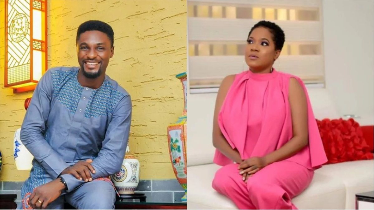 Actor Adeniyi Johnson's New Wife Seyi Edun Clarifies The Part She Played In His Divorce To Toyin Abraham