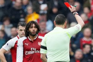 Arsenal win appeal against Elneny's red card