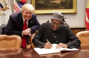Trumps meets Buhari finally! (PHOTOS)