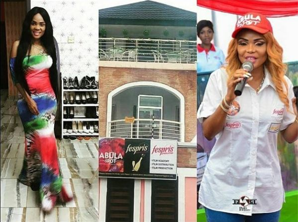 Actress Iyabo Ojo Opens Up On Her Amala Business In Lagos