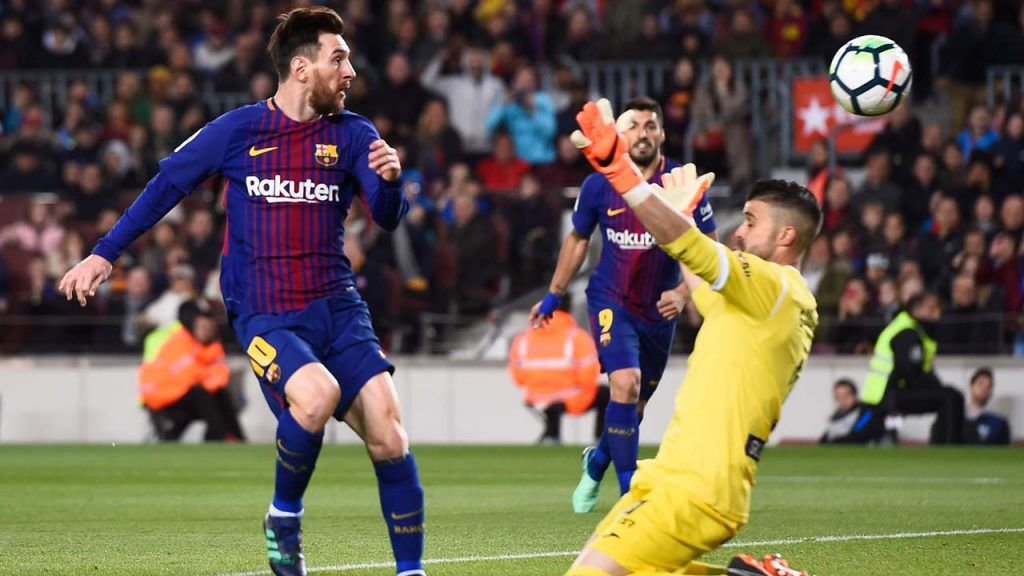 Barcelona vs Leganes: Messi equals Ronaldinho's record