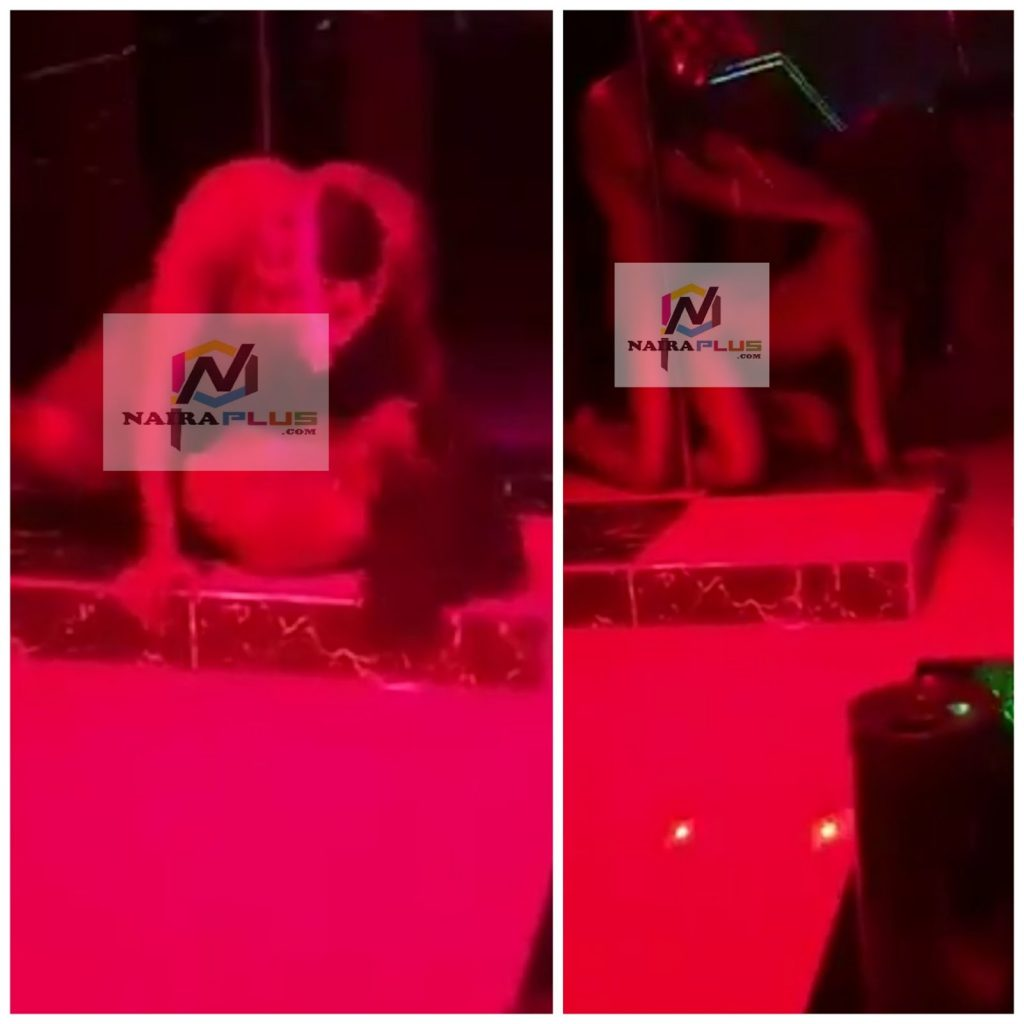 See A Strip Club In Lagos VI, Where They Have Sex To Entertain Customers (Video)