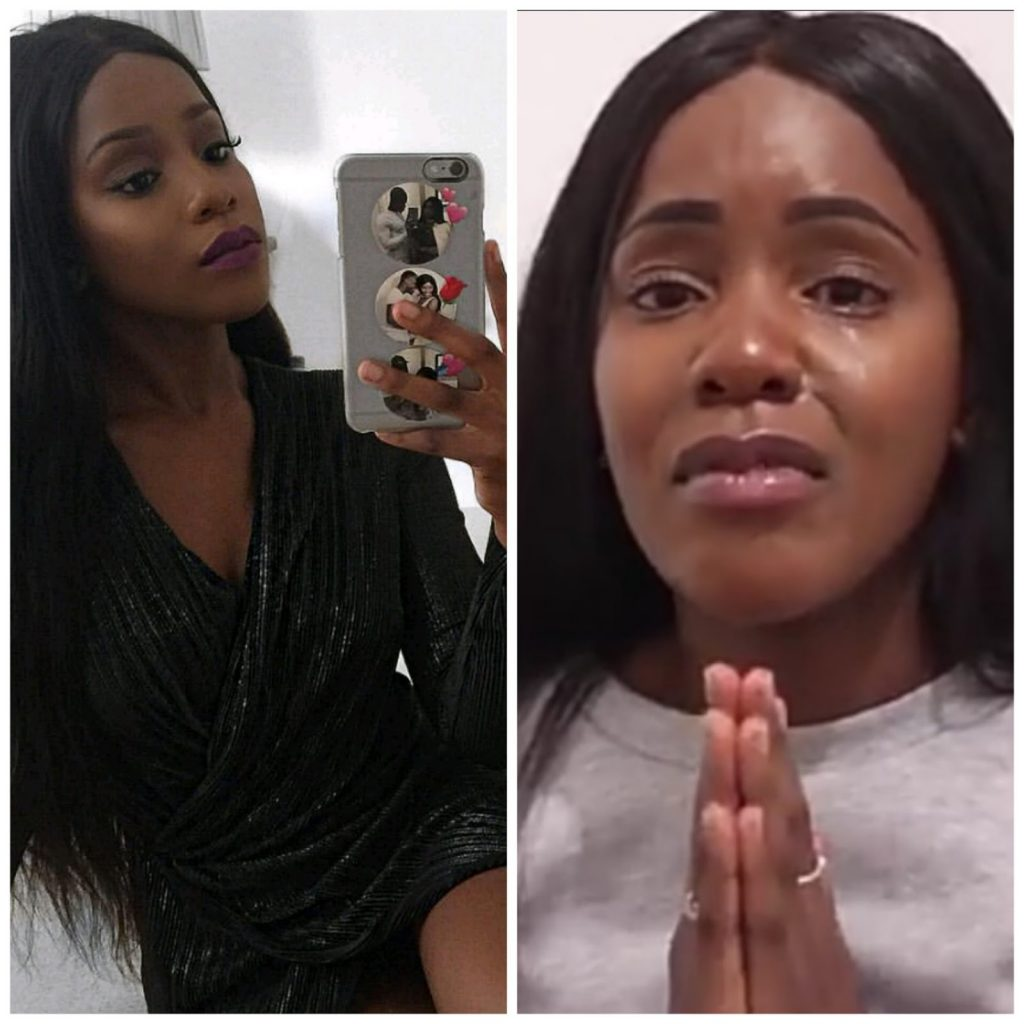 Zimbabwean Fashion blogger Begs For Money As Her Visa Expires In A Month (Video)