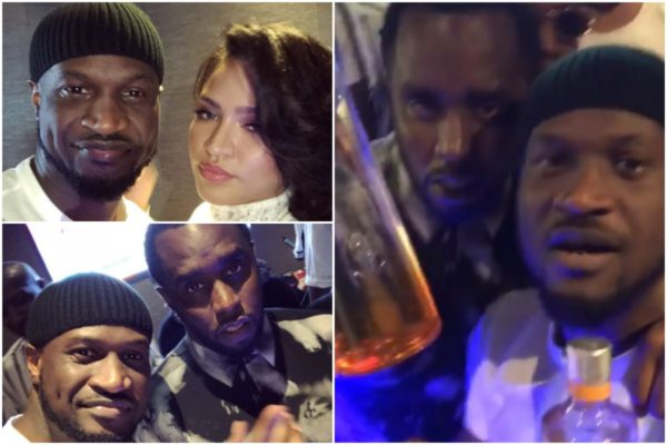 Peter Okoye, Diddy, Cassie Hangout Together In Abu Dhabi (Watch Video)