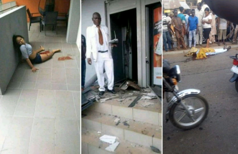 Offa Bank Robbery: The CCTV Footage Surfaces Online (Watch Video)