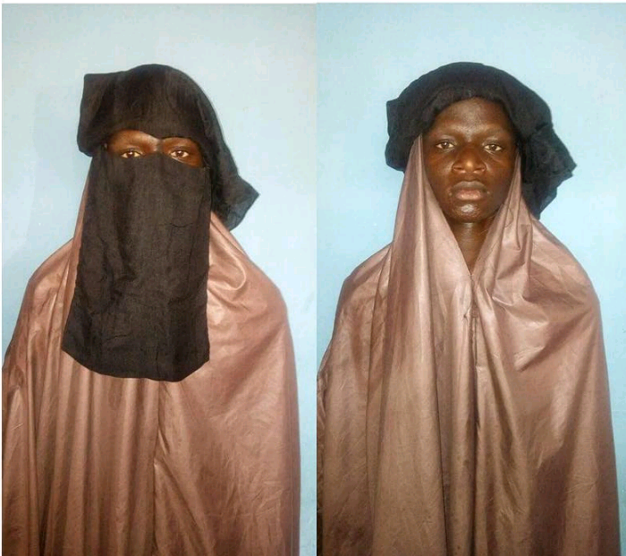 Police Arrest Suspected Kidnappers Who Disguised As A Women In Katsina