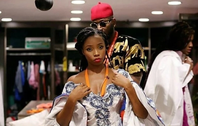 BBNaija 2018: Watch Video of How Happy Fans Welcomed Teddy A and BamBam at the airport with a White Hummer