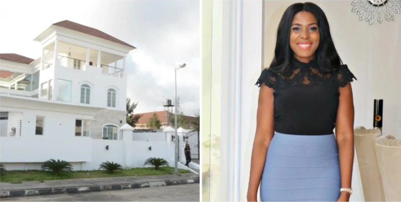 Linda Ikeji Mansion Interior and Exterior Design and Net Worth (Photos)