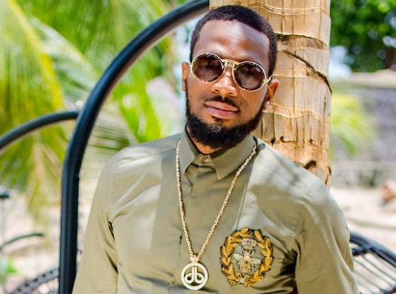 Money Speaking! Dbanj's Customised Swimming Pool (Photo)
