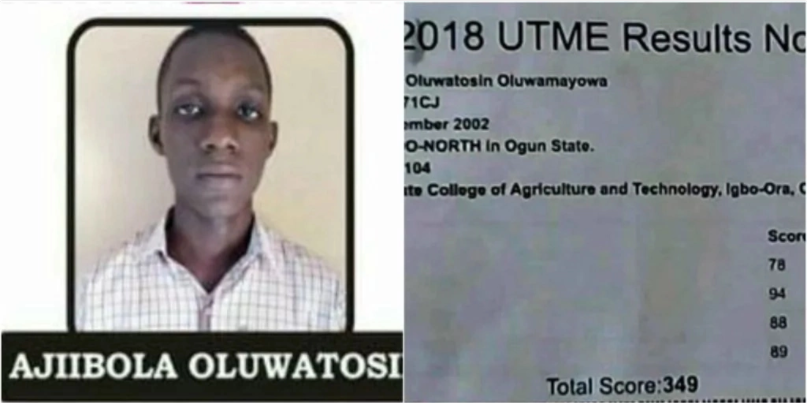 Highest JAMB Score in History and in 2018 (Photos)