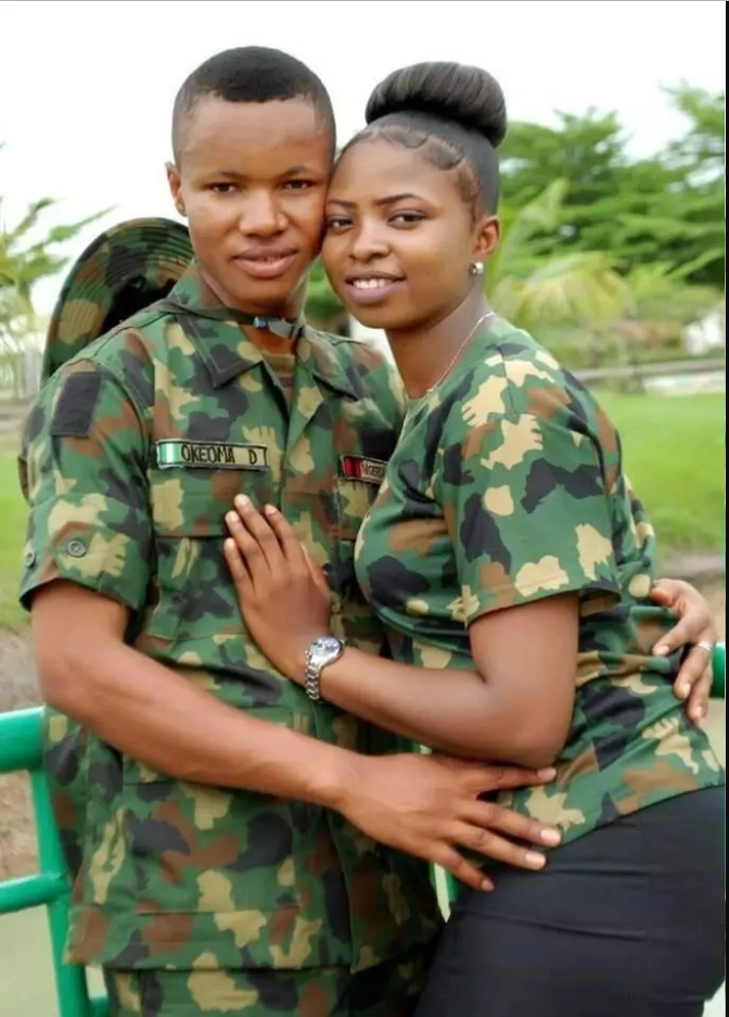 Adorable Pre-wedding Pictures of a Soldier and his Sweetheart