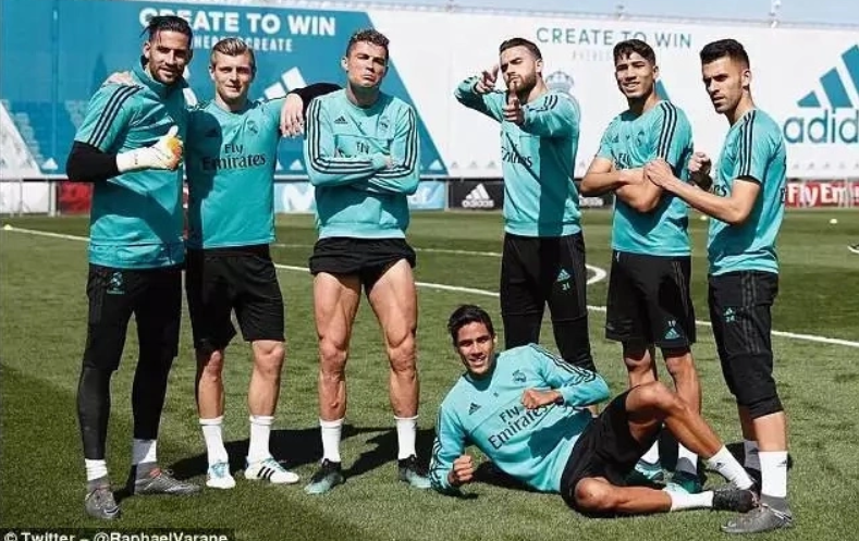 Cristiano Ronaldo boasts outrageous leg muscles ahead of Athletic Bilbao clash