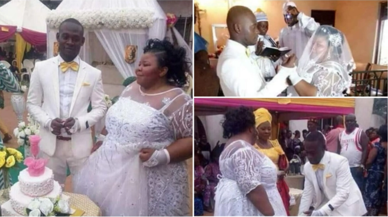 True Love Wins! Plus-Sized Couple Finally Tie The Knot in Style (Photos)
