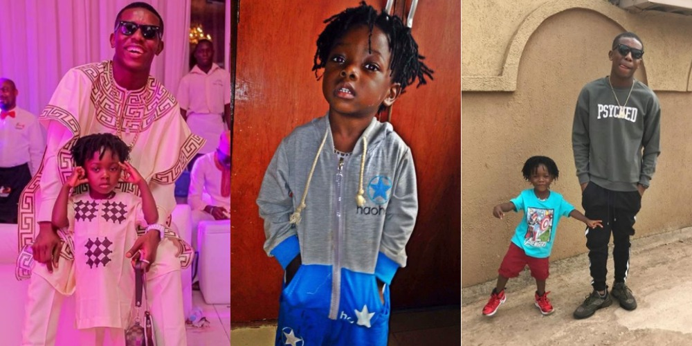Nigerian Singer, Small Doctor Gushes Over His Son As He Turns A Year Older