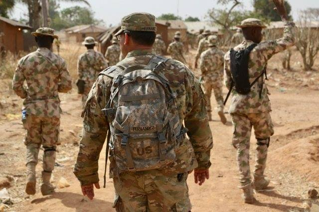 12 No-Nonsense American Soldiers Train Nigerian Infantry In Kaduna (Photos)