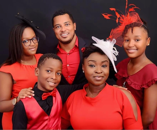 I Cannot Trade This For Anything – Popular Actor, Van Vicker Says As He Shows-off His Family (Photos)