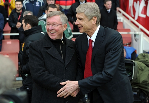 Sir Alex Ferguson Pays Touching Tribute As Arsene Wenger Announces His Departure From Arsenal