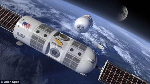 First-ever $28,000 an hour luxury space hotel will launch in 2021