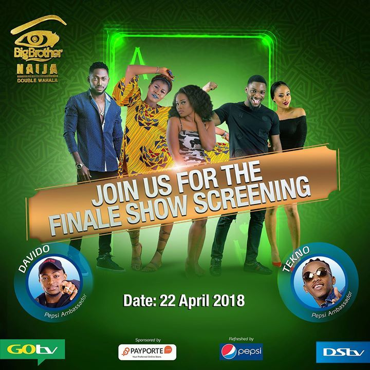 Davido & Tekno To Perform At BBNaija Finale On Sunday