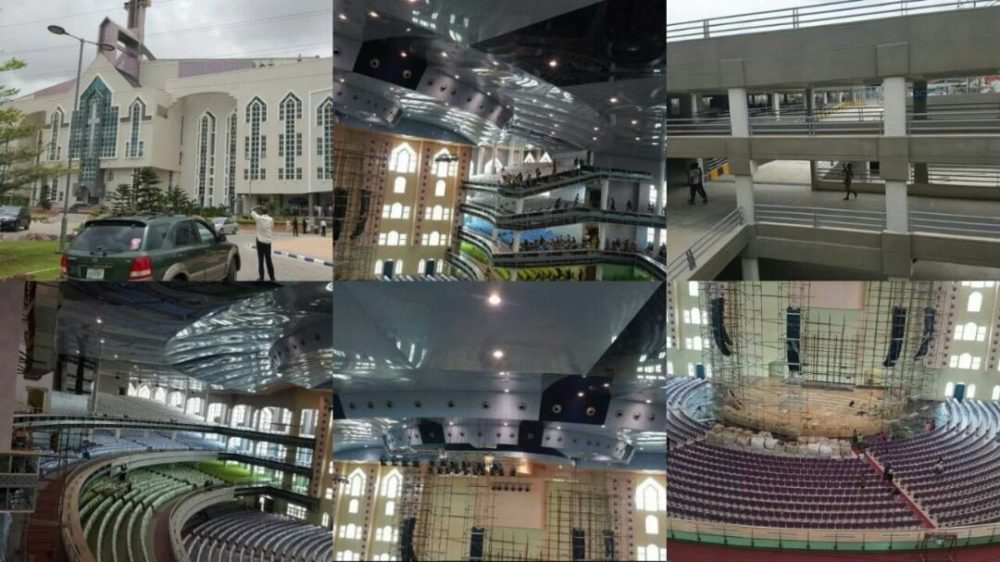 Deeper Life Bible Church set to unveil their massive N5billion new church auditorium in Lagos (Video)