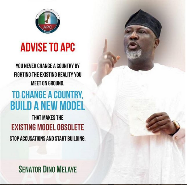 Viral Picture: Dino Melaye Advises His Own Party