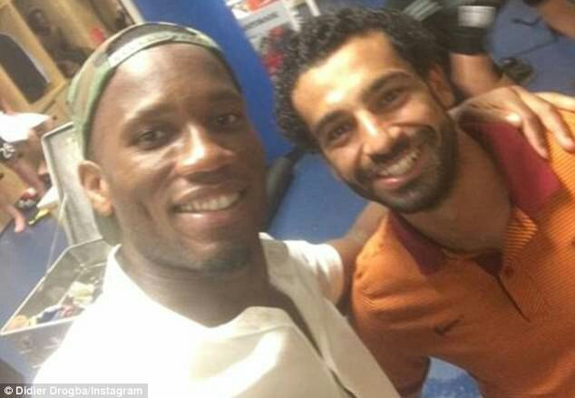 "Drogba Congratulates Salah After He Broke His Record As ""African Player With Most Goal In EPL In A Season"""