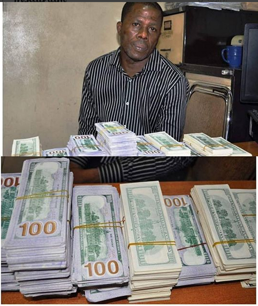 EFCC Arrests Man with Over $400,000 Fake Notes