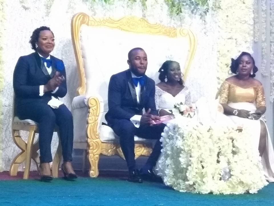 Lady Serves As Best Man At A Wedding In Bayelsa State (Photos)