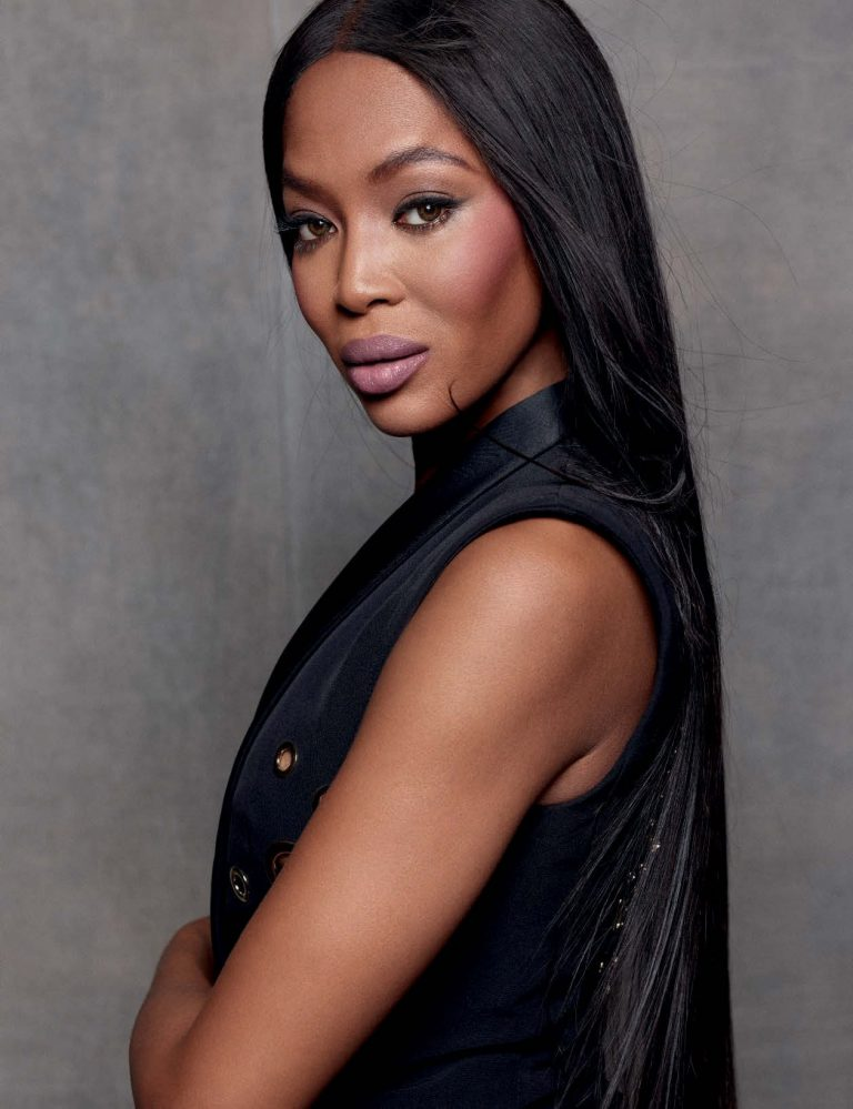 """There should be a Vogue Africa,""-Naomi Campbell"