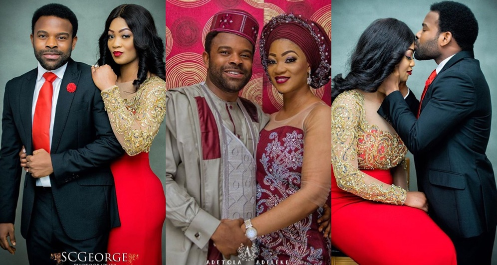Actor Gabriel Afolayan Set To Wed His Longtime Girlfriend…..See Pre-Wedding Photos